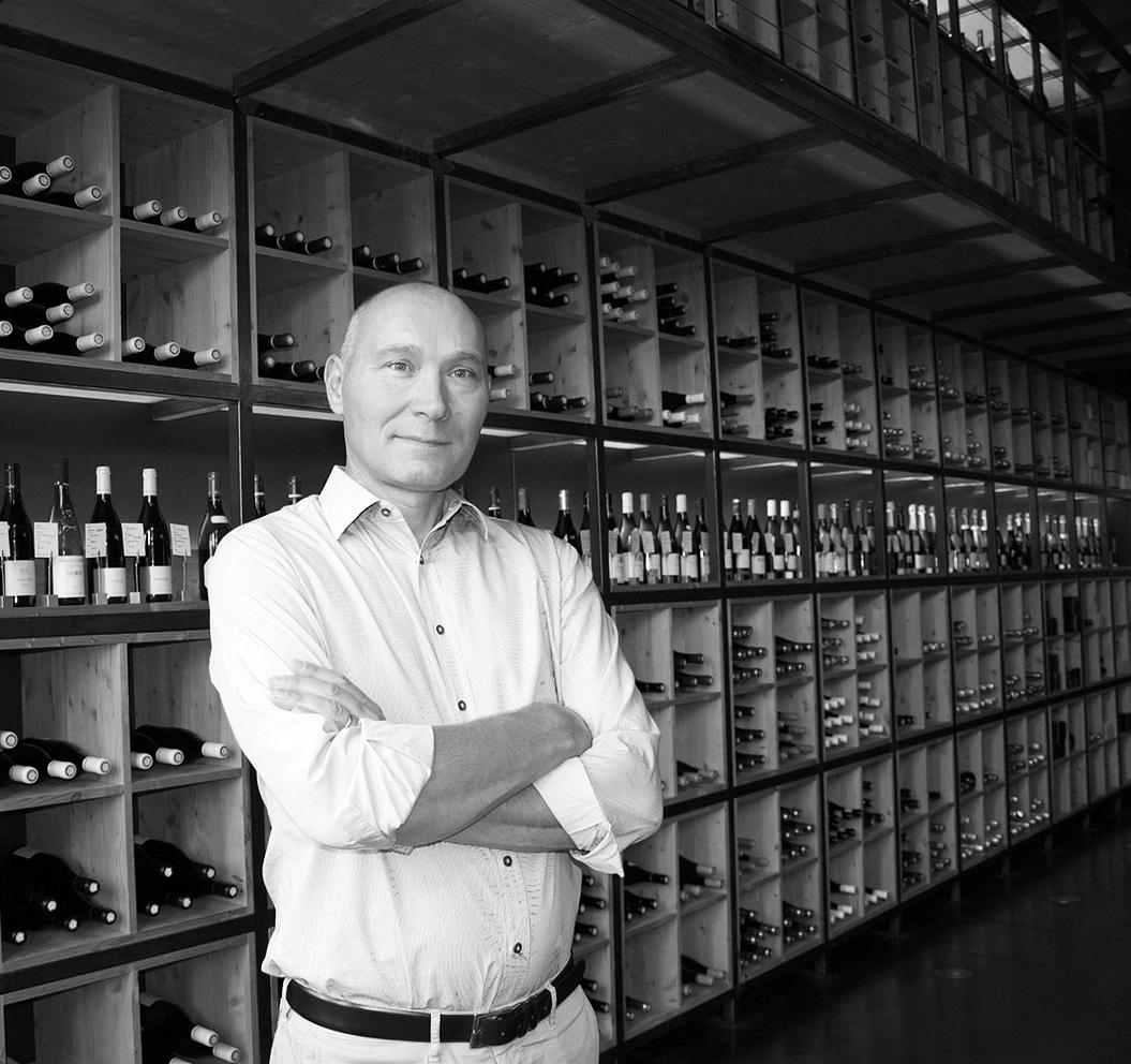 Philippe Johanis - gérant passionné de la Cave Roosevelt (Lyon 6)