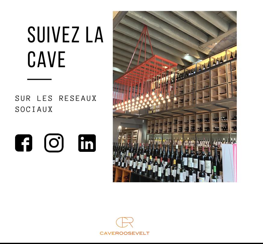 Suivez la Cave sur les reseaux sociaux